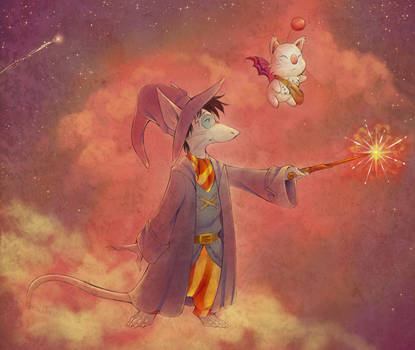 Harry Potter and The Summoner's Stone by ThisCrispyKat
