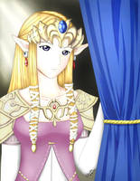 Twilight Princess: Zelda Hime by ChibiRed