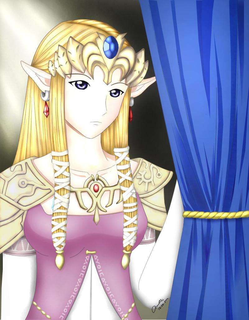 Twilight Princess Zelda Hime By Chibired On Deviantart