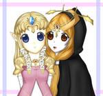 LoZ TP: Zelda+Midna Spoiler