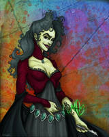 Bellatrix Lestrange by MistressBlackwater