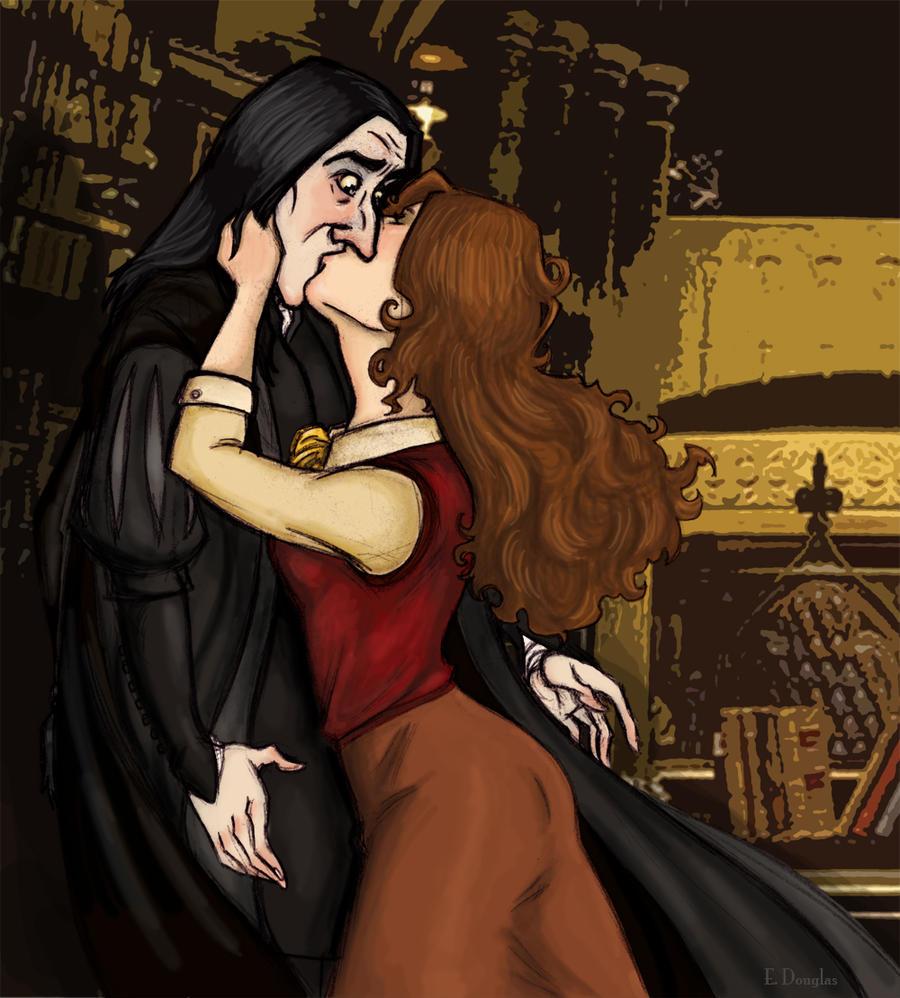 Drunk Hermione Kisses Snape