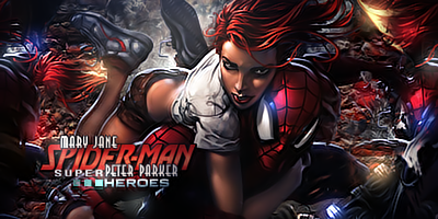 Spider Man-Mary Jane by odin-gfx