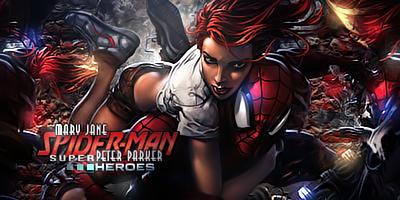 Spider Man-Mary Jane by odin-gfx