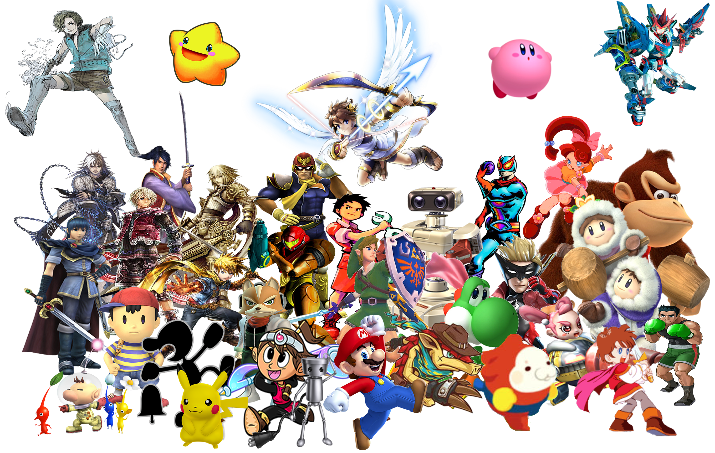 Nintendo Heroes - Super Smash Bros. Universe by NintendoFanDj