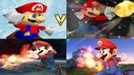 Mario Evolution in Super Smash Bros.