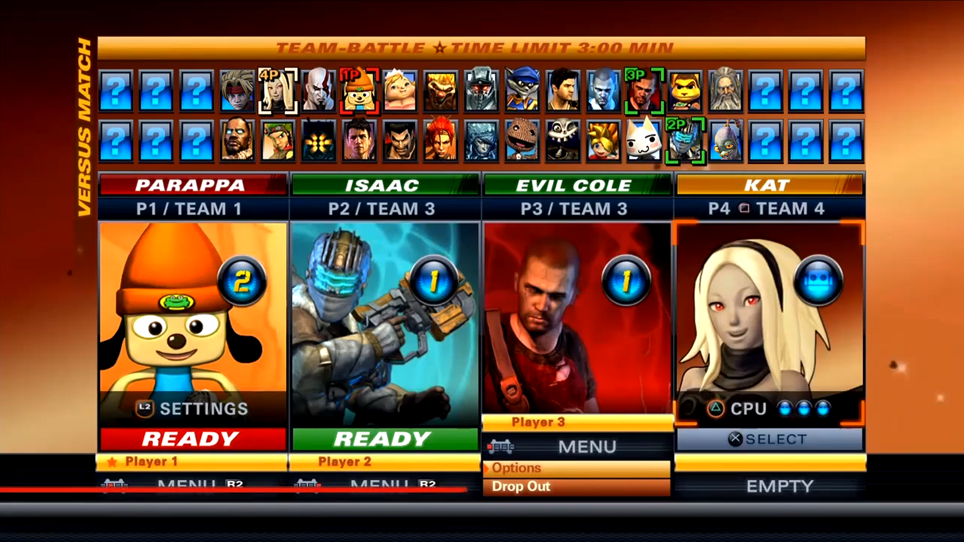 Playstation All-Stars Battle Royale ranked match 33 - YouTube