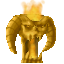 First Place Trophy from Lord of the Mobs: a Middle Earth creature contest