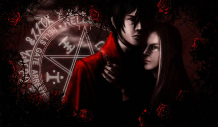 Valentine's a la Hellsing by dnatio