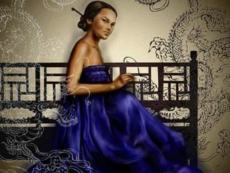 Dragon Lady by dnatio