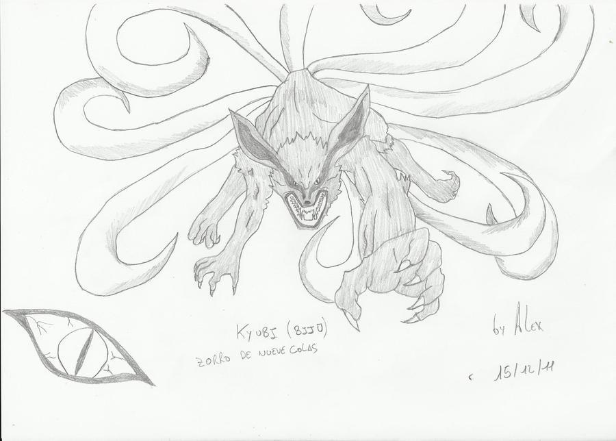 Kyubi Zorro De Nueve Colas By Saiyo82 On Deviantart