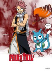 Natsu y Happy de Fairy Tail