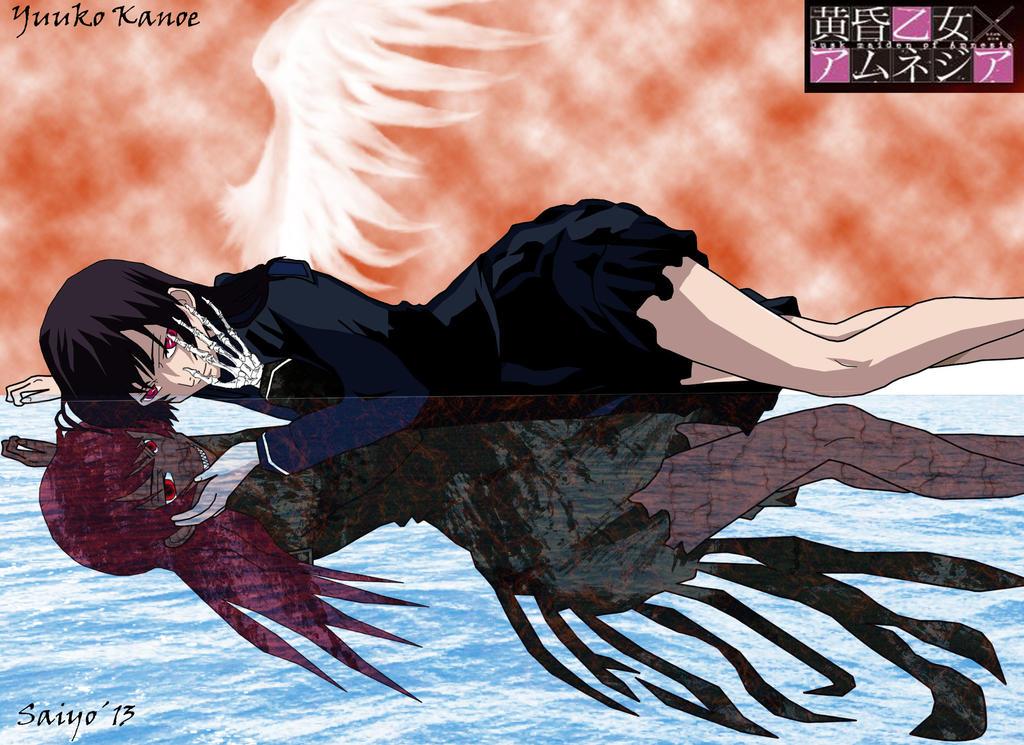 Tasogare Otome X Amnesia Yuuko-Yuuko Sombra Linear By