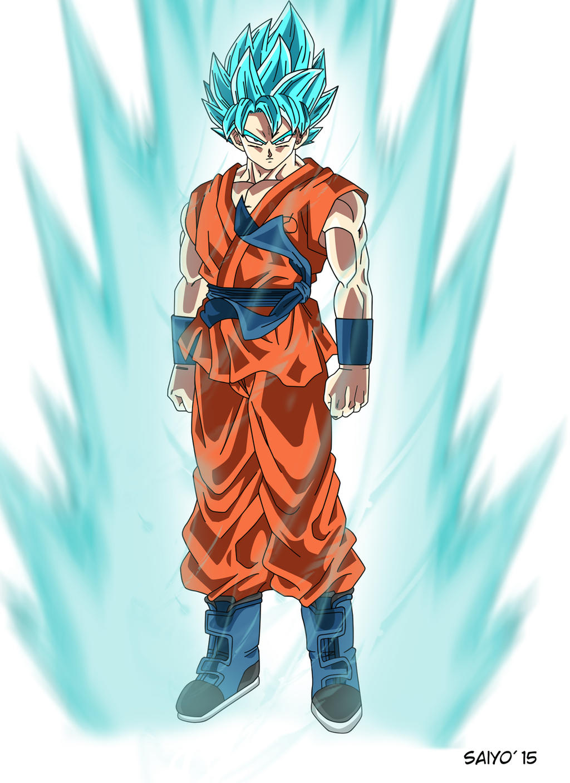 Son Goku Super Saiyan God Super Saiyan by Saiyo82 on ...