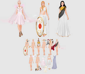 commission dress up Game by Liowa
