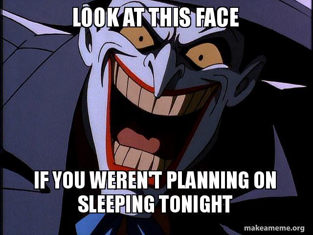 scary joker by menslady125 on deviantart
