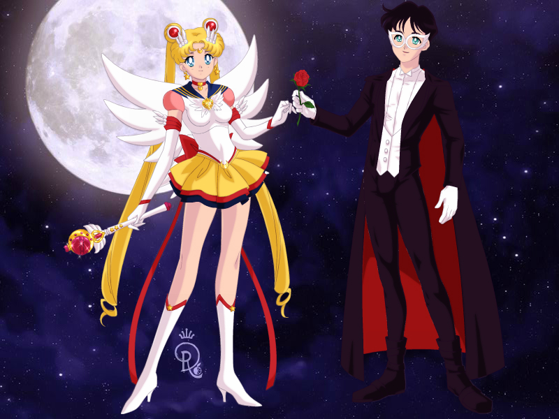 eternal sailor moon and tuxedo mask by menslady125 on