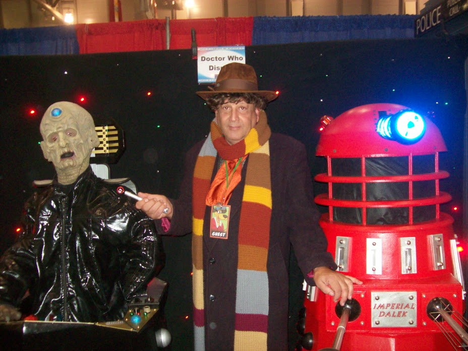 Davros, Doctor and Dalek by menslady125