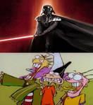 Ed, Edd and Eddy encounter Darth Vader