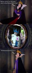 Megatron makes the Evil Queen jealous