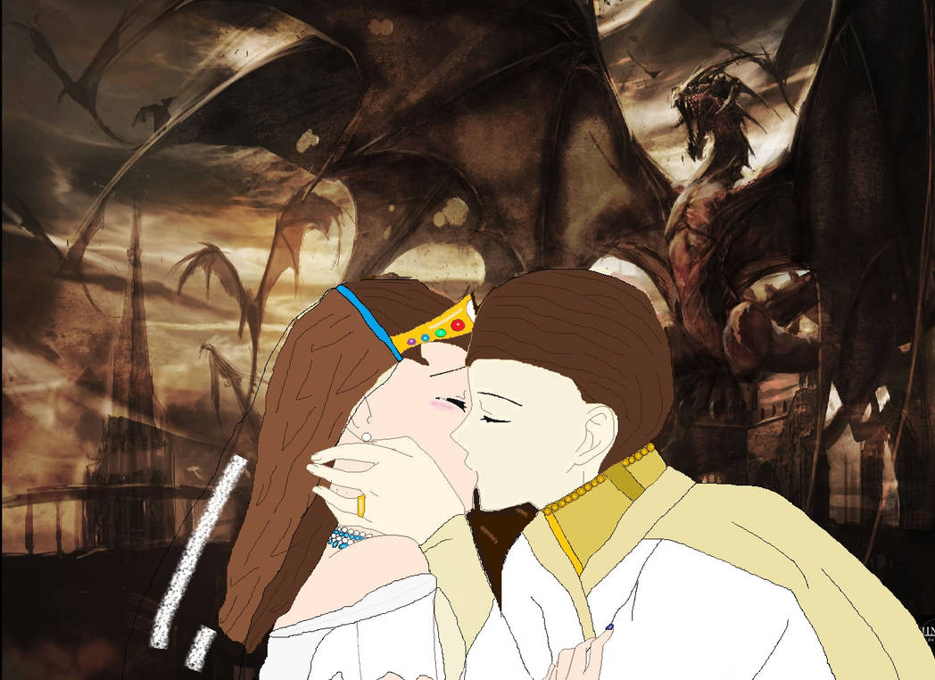 The Dragon Lord and his Lady