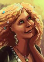 Magrat Garlick, witch by Alda-Rana