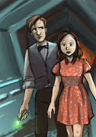 Journey to the Centre of the Tardis by Alda-Rana