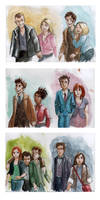 New Doctors and Companions
