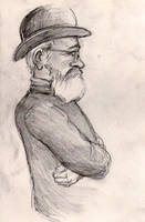 Man in a Hat by Alda-Rana