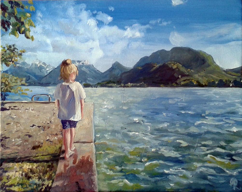 Lake Annecy by Alda-Rana