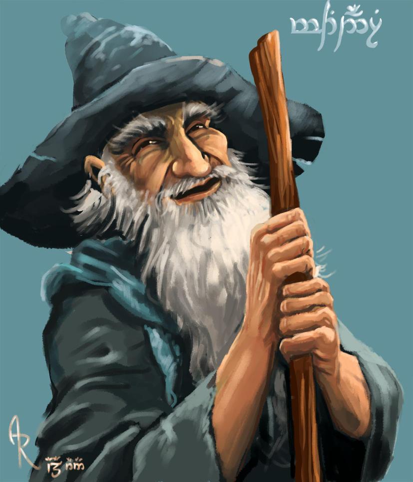 Gandalf by Alda-Rana