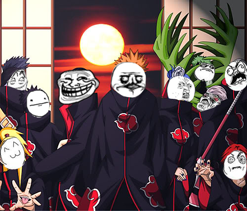 The Akatsuki, Meme Style. by Aisu-Kuchiki
