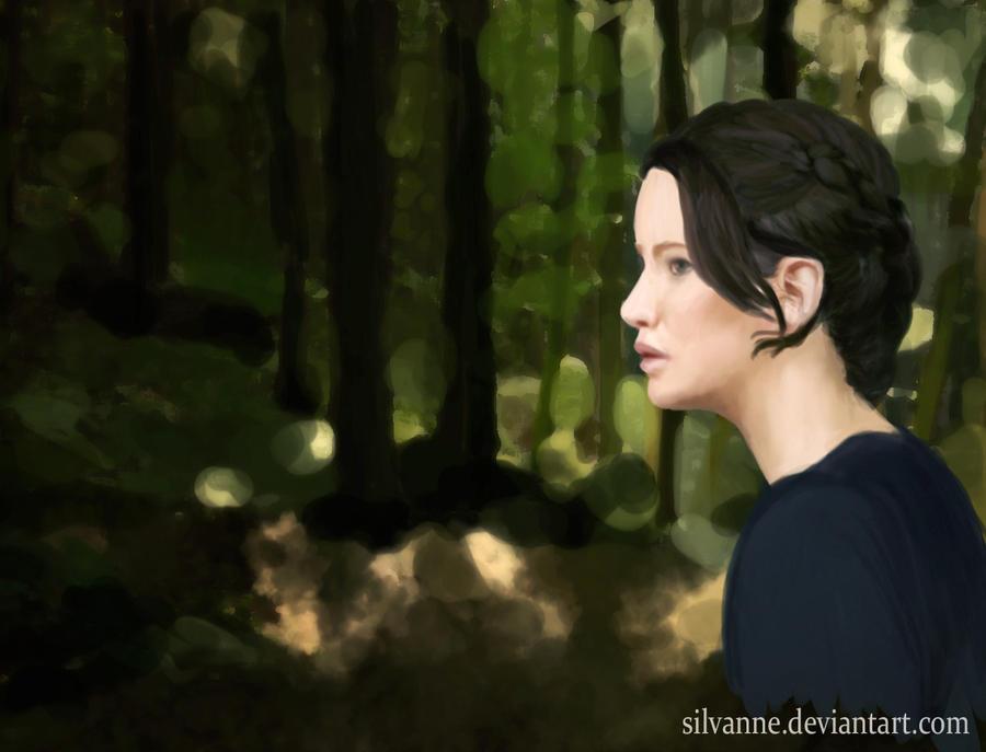 Katniss Everdeen by Silvanne