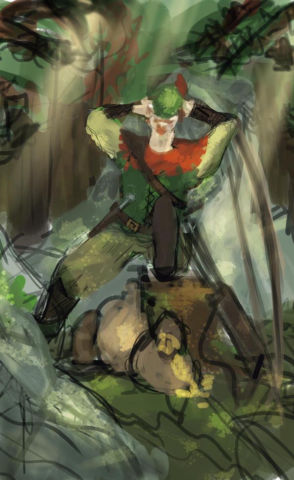 Robin Hood WIP by Silvanne