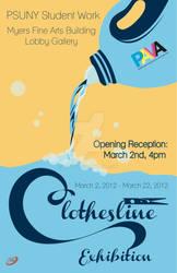 PAVA Present Clothesline Exhibiton 2012