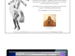 Marilyn Magic: Splash Page by ALFitz