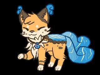 Shio the Fox Pond by StreamIt