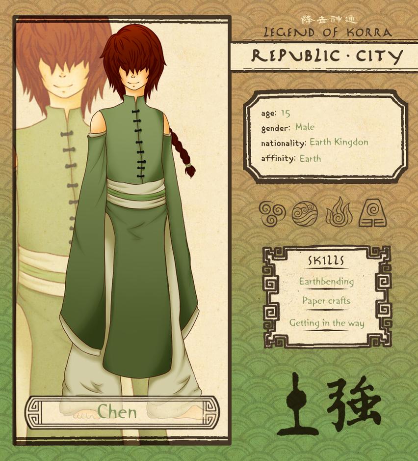 Republic City: Chen by Ren-RenNightmare
