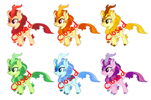 Rainbow Kirin Adopts Auction (CLOSED) by MObubbles