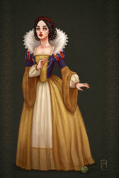 Historically accurate Snow White by MargotDeniseArt