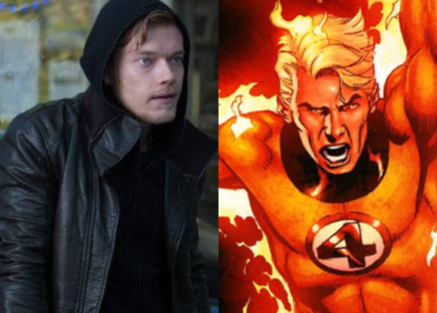 Alfie Allen As Johnny Storm A.k.a. The Human Torch By