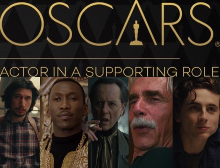 2019 Oscar Predictions: Best Supporting Actor by dyemery on