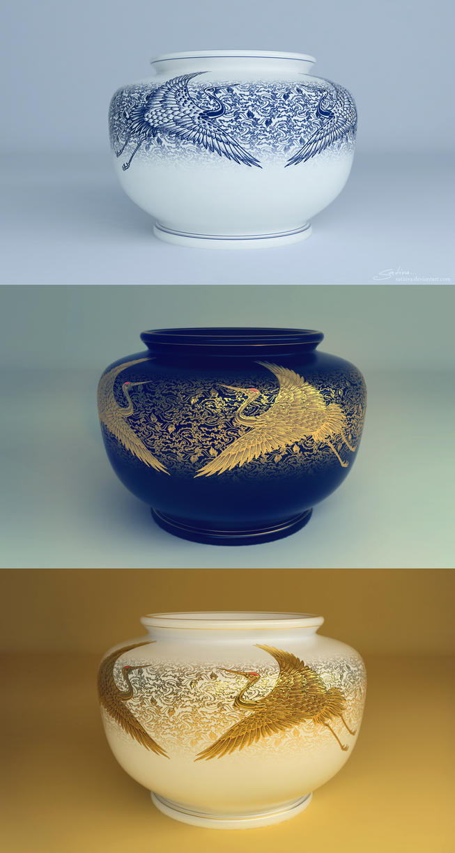 Chinese Vase by satiiiva
