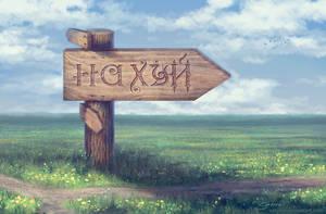 Russian crossroads by satiiiva