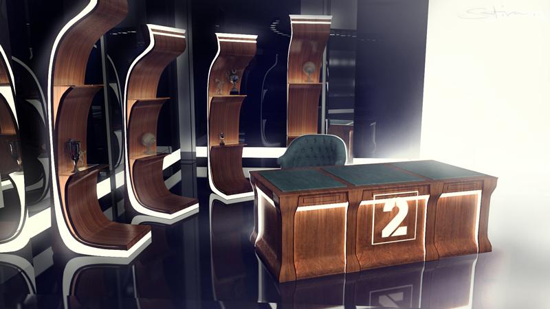 Television studio design by satiiiva