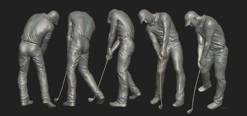 Golfer by satiiiva