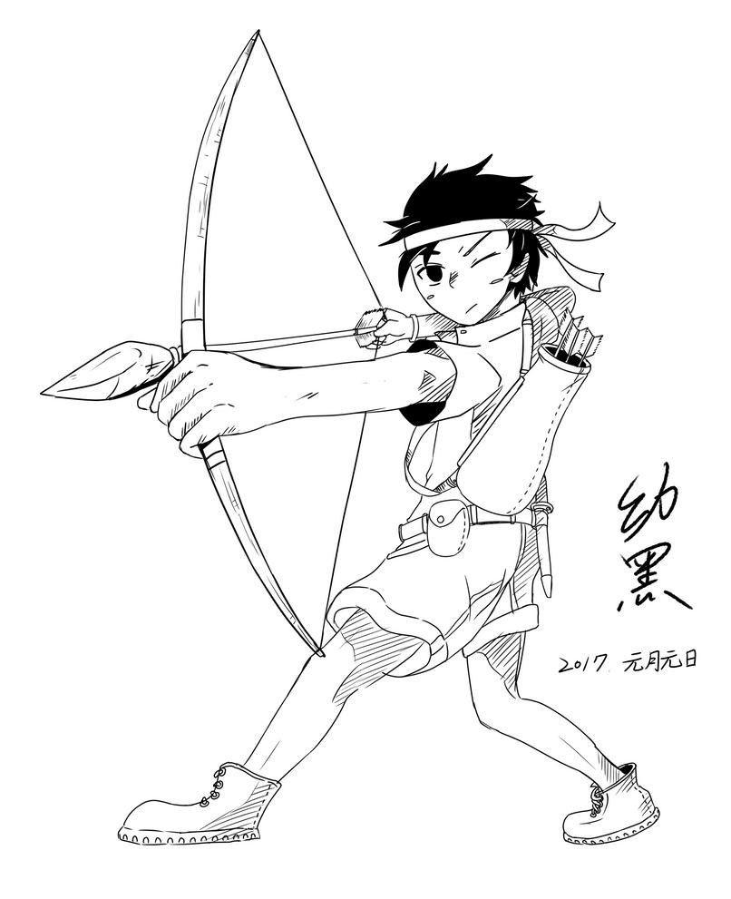 Archers by RichardTW