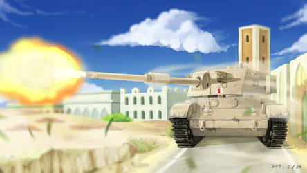 Charioteer Tank by RichardTW