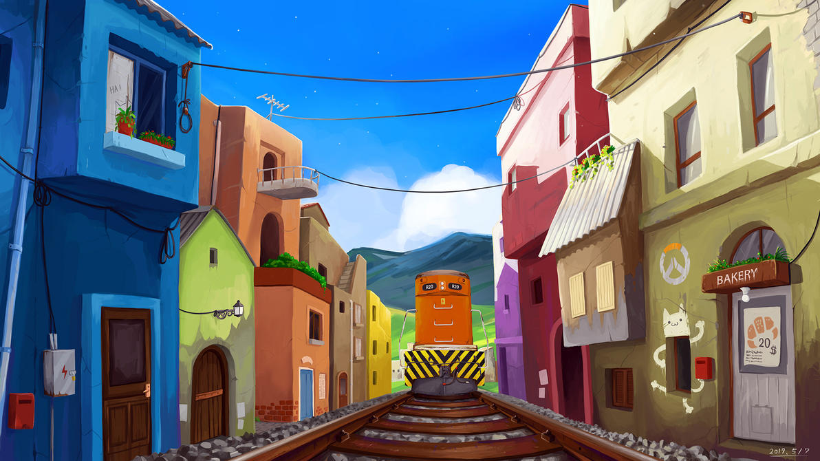 Railway Lane by RichardTW
