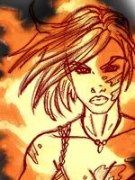 ID Fire Gabrielle. by Aphrodian